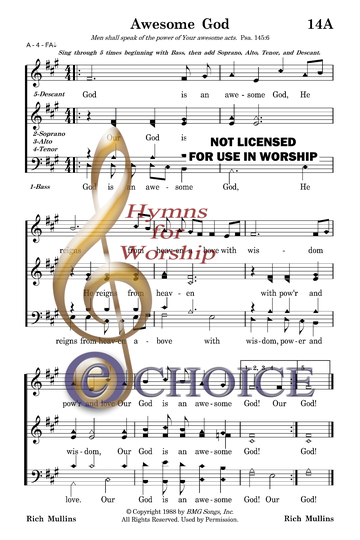 BE HOLY, FOR I AM HOLY Music