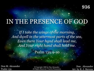What Is God's Presence?
